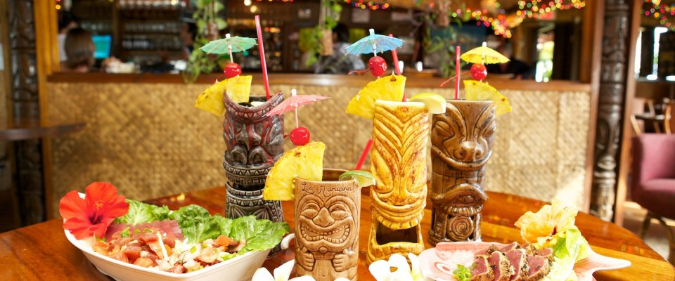 Island Themed Restaurant Waikiki